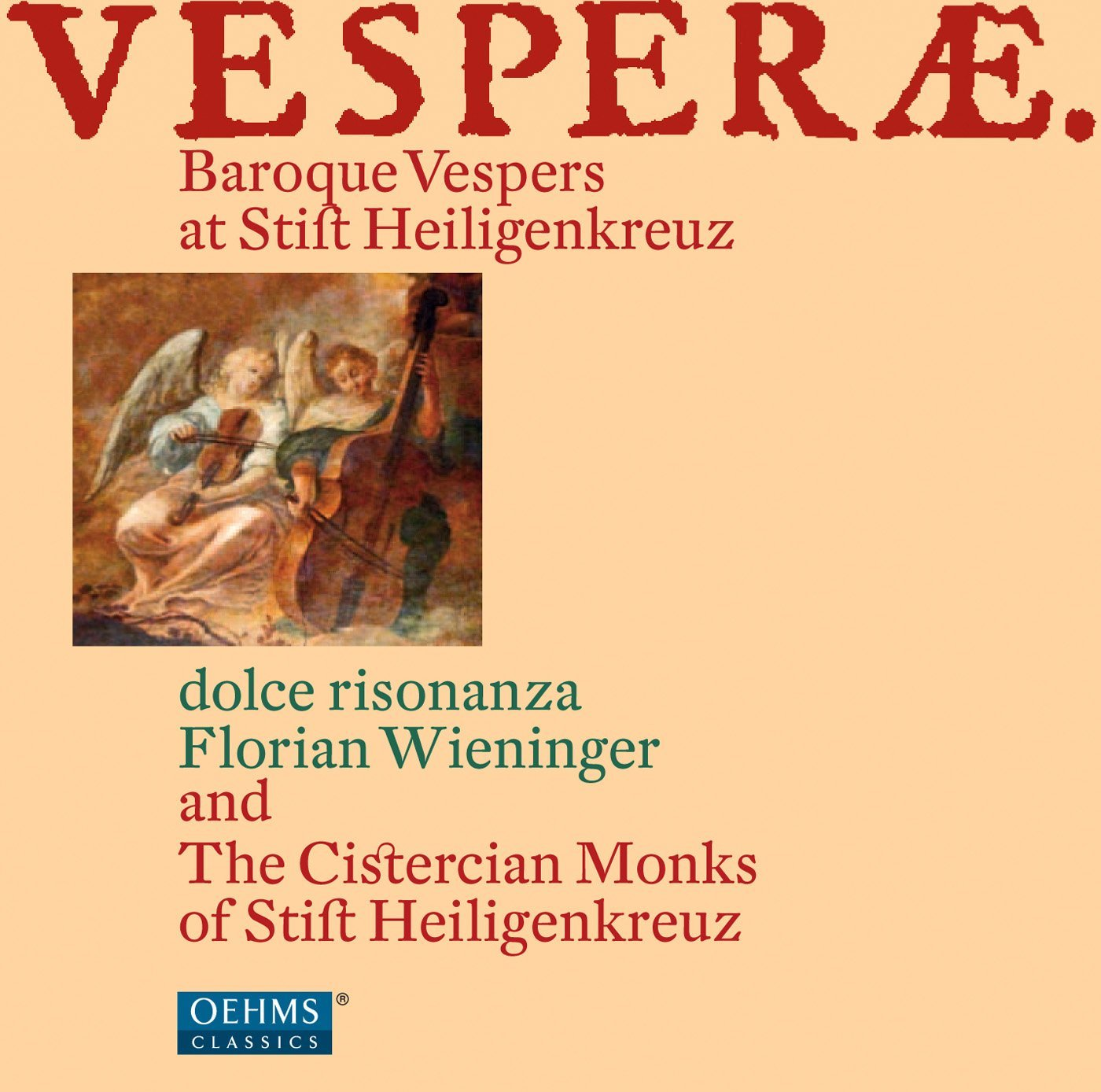 vesperae  baroque vespers at stift heiligenkreuz